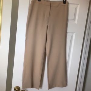 ST. JOHN size 6 khaki color straight pants